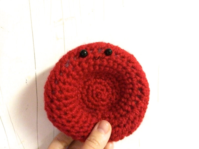 Crochet Red Blood Cell  Erythrocyte image 0