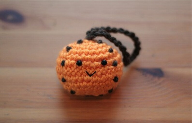 Orange Pomander  Crochet Ornament image 0