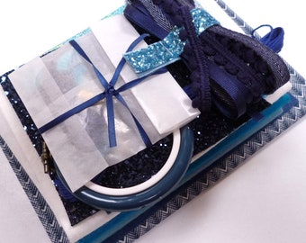 The Navy Bundle for crafters & stitchers