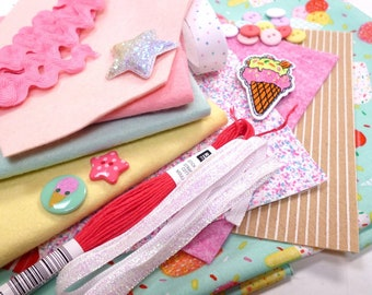 The Ice Cream Bundle for crafters & stitchers