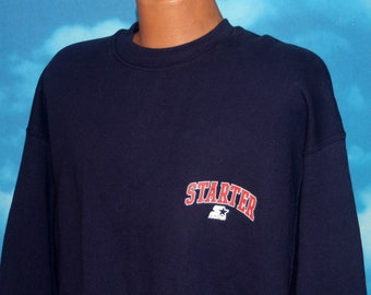 Starter Left Chest Spell Out DEADSTOCK New Pullover Sweatshirt XXL Vintage 1990s