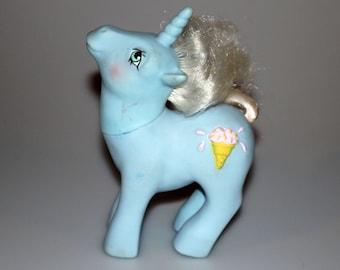 My Little Pony G1 Year 6 Coco Berry  / Chocolate Chip Sundae Best Unicorn Vintage 1987