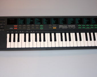 Yamaha PSS-170 Portasound 99 Voice Keyboard Synthesizer Vintage 1980s