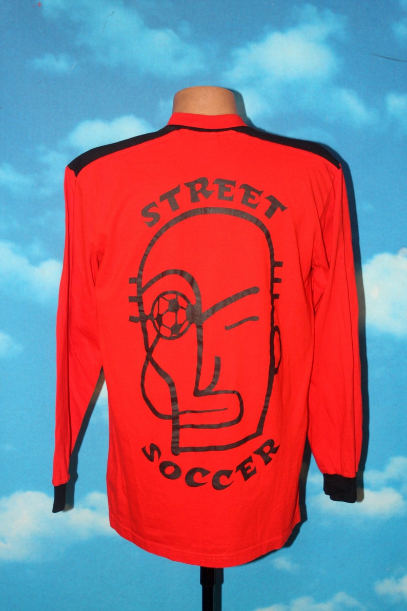 Puma Street Soccer Playstation Game Long Sleeve Orange Large image 0