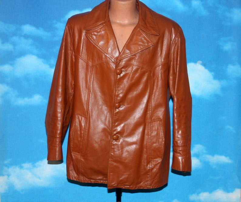 Cross Country Leather Jacket with Lining Made in Canada Medium image 0