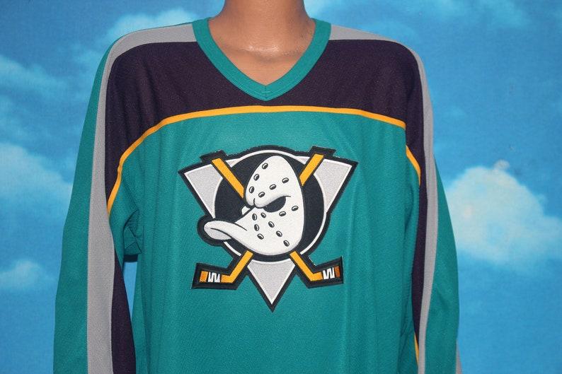Anaheim Mighty Ducks CCM Hockey Jersey XL Vintage 1990s image 0