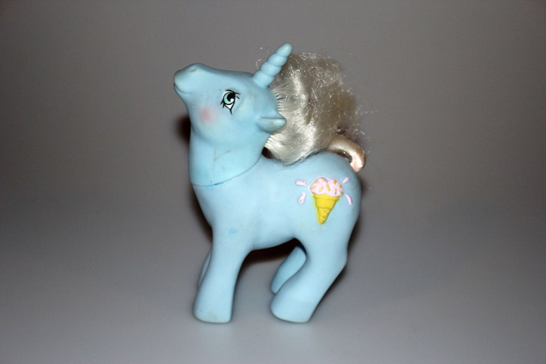 My Little Pony G1 Year 6 Coco Berry  / Chocolate Chip Sundae image 0