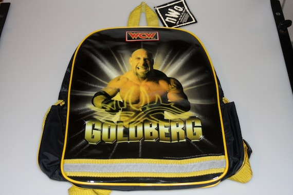 Goldberg WCW Wrestling NWO DEADSTOCK Small Backpac