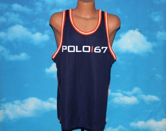 Polo Sport Ralph Lauren Tank Top Mesh Basketball J