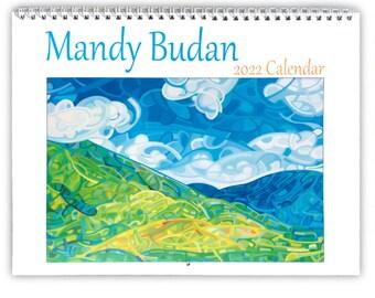 Mandy Budan - Canadian Abstract Landscape Paintings 2022 Calendar
