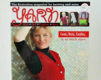 Yarn Australian Knitting Magazine Issue 27 September 2012 - Knits Felt Crochet Spin