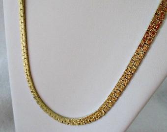 7554b2e98a6 Gold costume jewelry   Etsy
