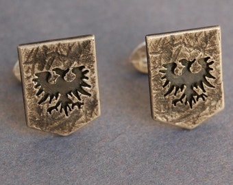 EVE Online Gallente federation tie pin/lapel pin/cufflinks/pendant and chain Sterling silver