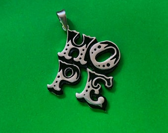 HOPE pendant handmade in Sterling silver including  optional sterling silver chain