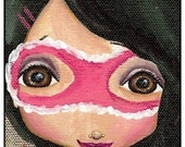 This Is A Print Of A VERY Girly Superhero