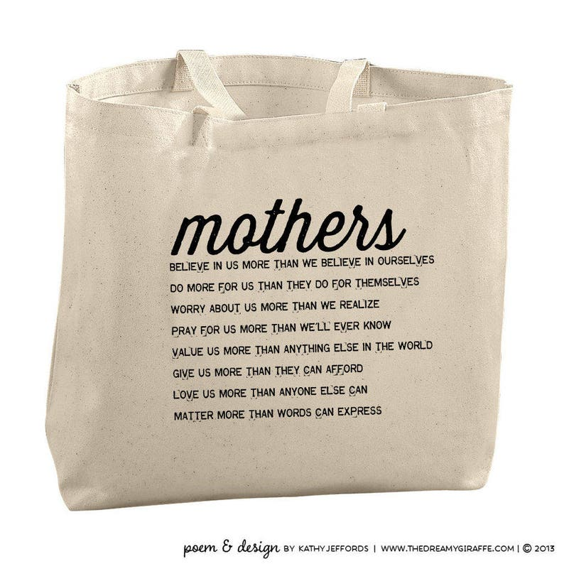 Tote Bag For Mom From Son Mothers Day Gift Mother Of The Groom image 0