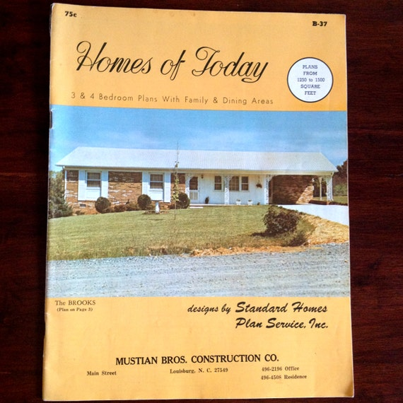 Vintage Homes of Today House Plans, Home Plans and Designs 31p