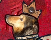 Every Little Dog She Loves Is Magic . . . an ART MAGNET that is for people who love dogs