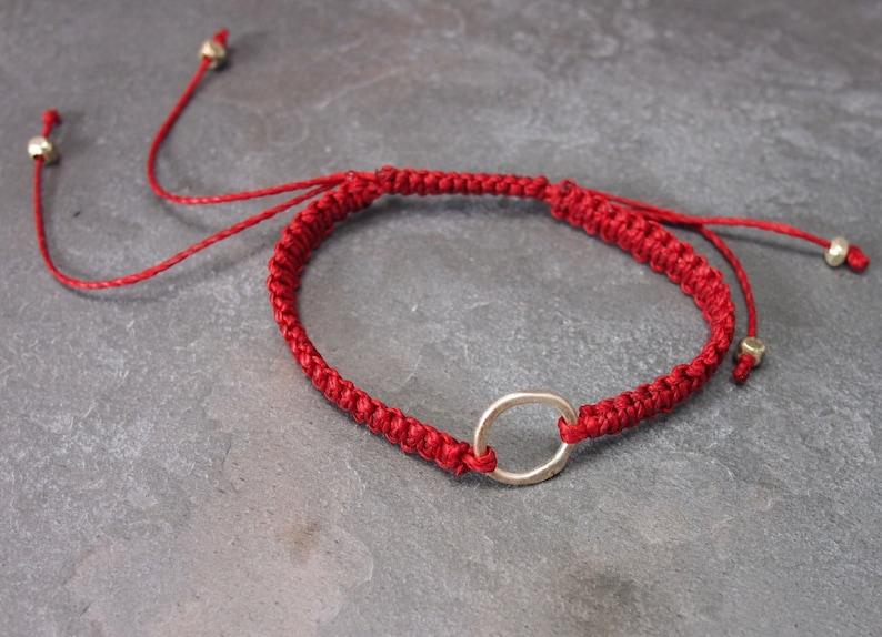 Red Thread Karma Bracelet image 0