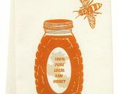 honey tea towel ORGANIC cotton