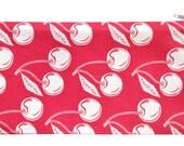 cherry zippered pouch
