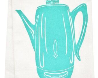 Mod Maple Organic Tea Towel Etsy