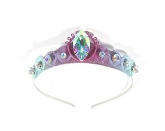 Pixie Rainbow Tiara - by Loschy Designs