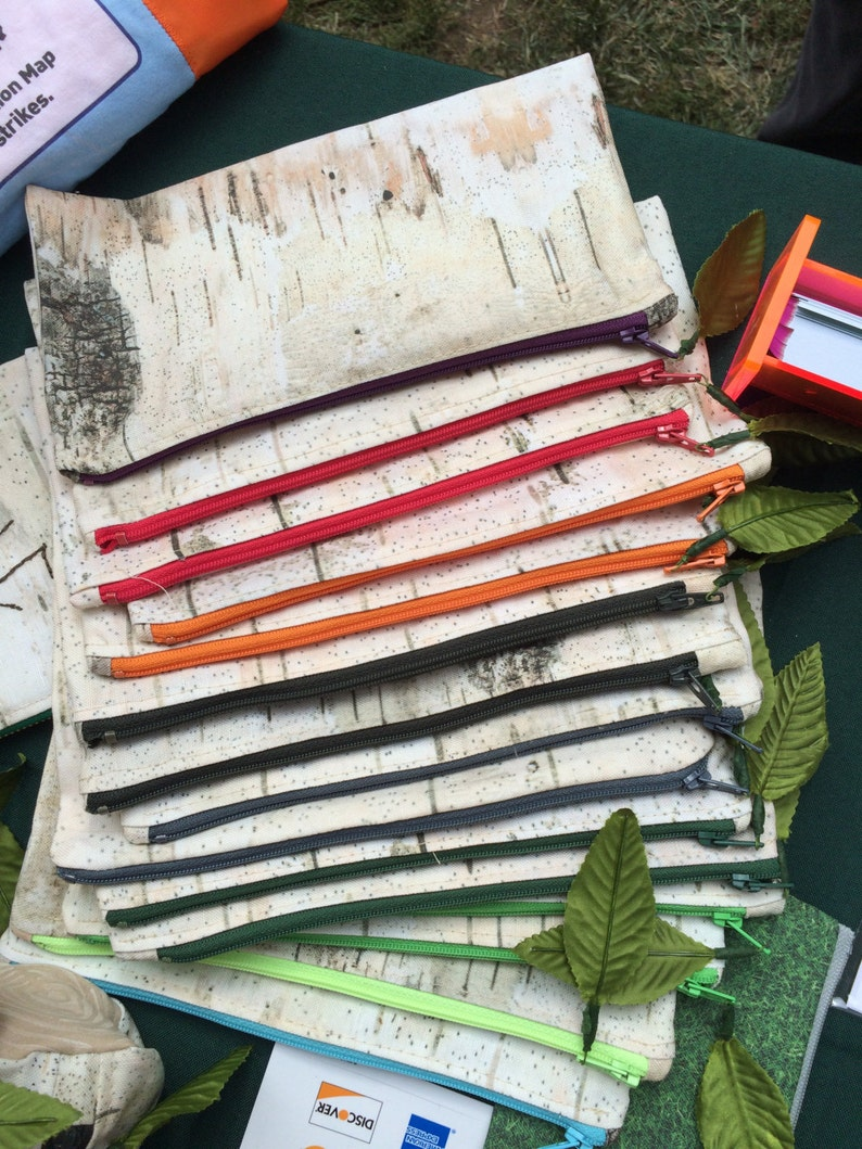 Birch Bark Pencil Cases image 0