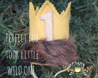 The Original Where the Wild Things Are Crown, Wild Things, Wild Things Crown, Wild One, Wild Things Birthday, Wild Things Party Supplies