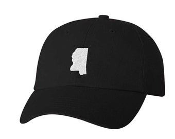 10734dbca4038 Mississippi Hat - Classic Dad Hat