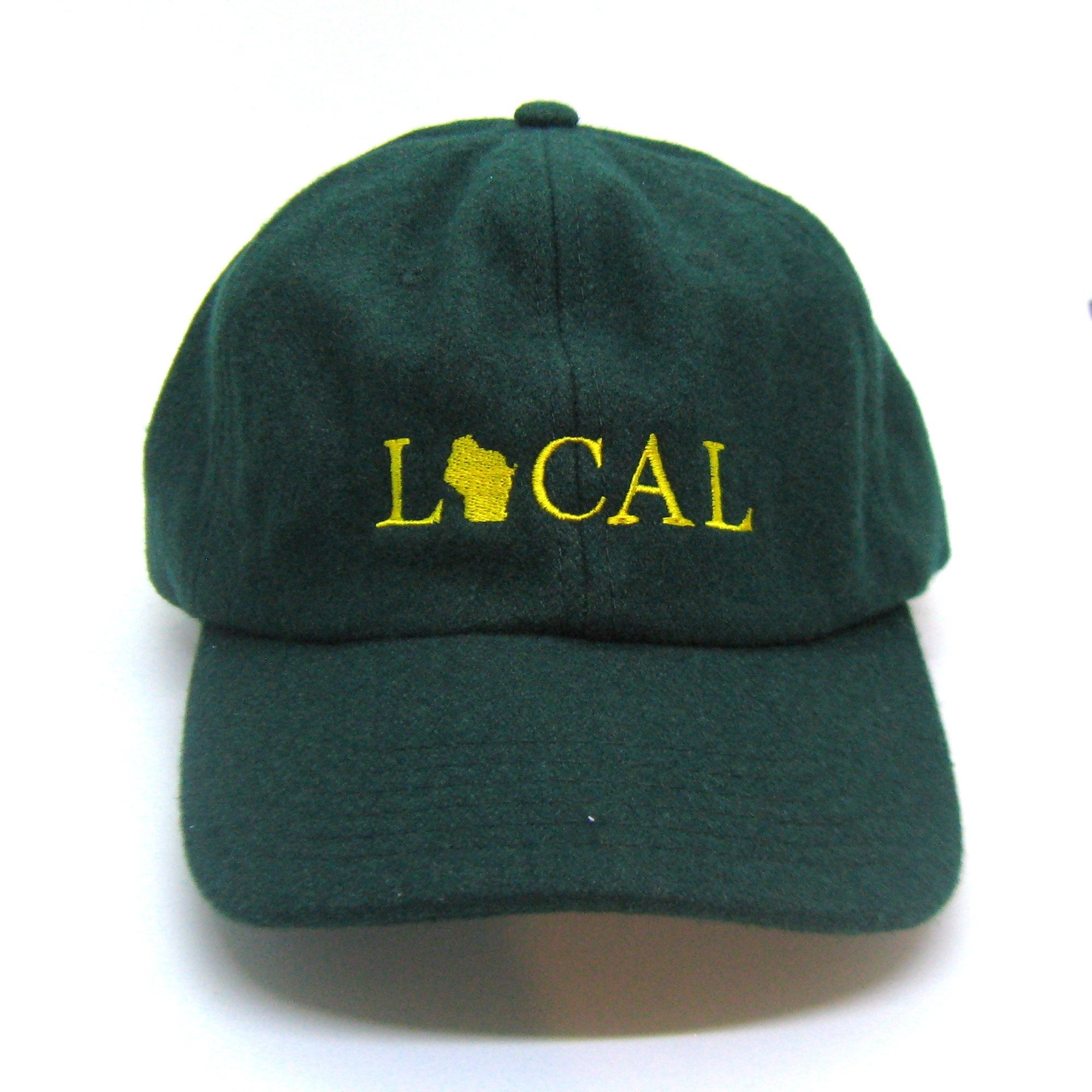 Clearance Ready to Ship wool felt baseball cap  16b8a2f51af