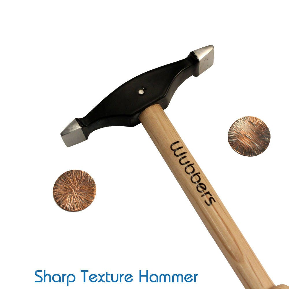 Wubbers Artisan's Mark Sharp Texture Hammer With FREE