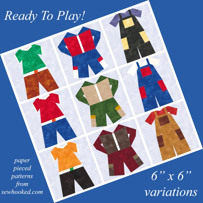 Ready To Play  Interchangeable Clothing to Paper Piece image 0
