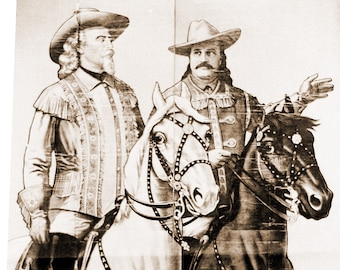 Buffalo Bill and Pawnee Bill
