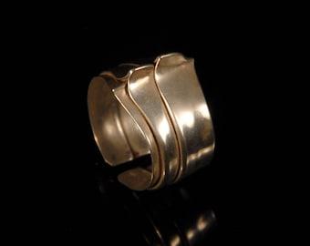 Dragonback ring - silver