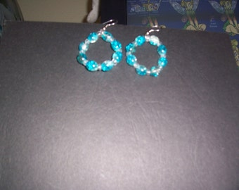 Aqua Seamist Earrings