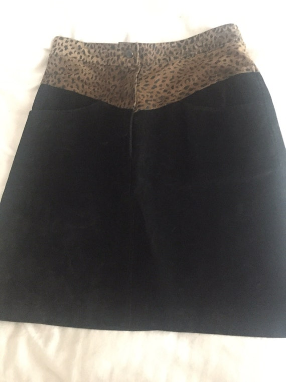 Bermans mini skirt Vintage 1980's