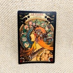 Art Nouveau Sticker / Bumper Sticker / Vinyl Sticker / Vintage Image / Phone Sticker / Laptop Sticker / Mucha Sticker / Bohemian Sticker