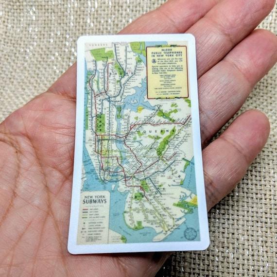 Subway Map Phone.Nyc Subway Map Sticker Bumper Sticker Vinyl Sticker Vintage Nyc Phone Sticker Laptop Sticker New York Sticker Subway Sticker