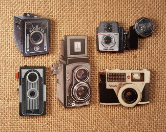 Vintage Camera pendant necklace brownie pendant Necklace old camera necklace vintage camera necklace flash camera pendant necklace