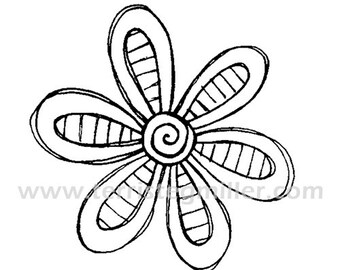 Thermofax Screen - Flower 2