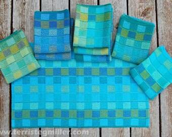 Handwoven Towels - Ocean Skies Towels