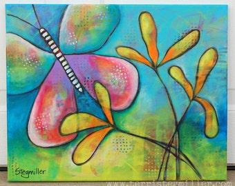 Flutter - Original Acrylic Painting