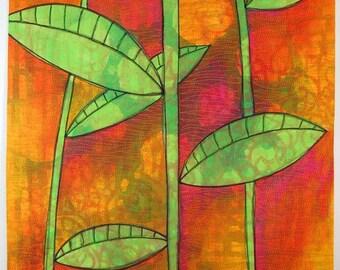 Leaves - Art Quilt
