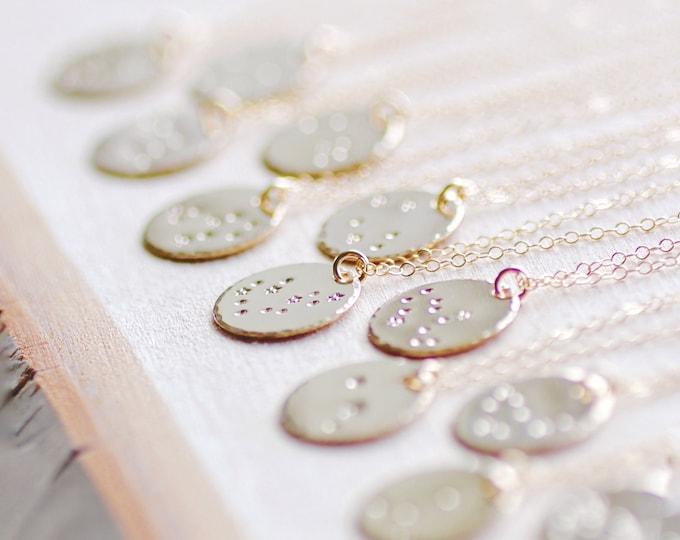 Zodiac Necklace, VIRGO Jewelry, Constellation Necklace, VIRGO Birthday Gift, Friendship Necklace, Virgo Necklace, Star Constellation