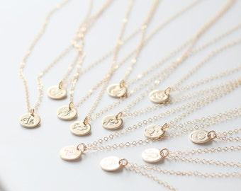 Scorpio Necklace, Zodiac Necklace, Gold Scorpio Necklace, Zodiac Jewelry, November Birthday Gift, Scorpio Sign, Best Friend Gift, Minimal
