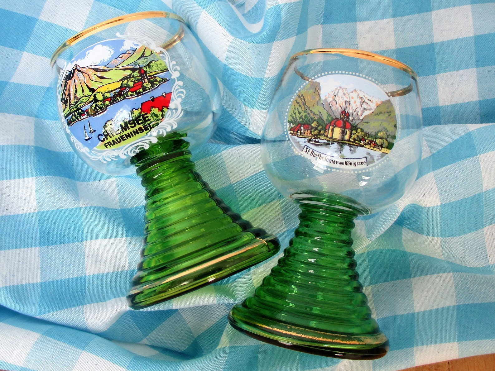 Bavarian Schnapps Glass Set