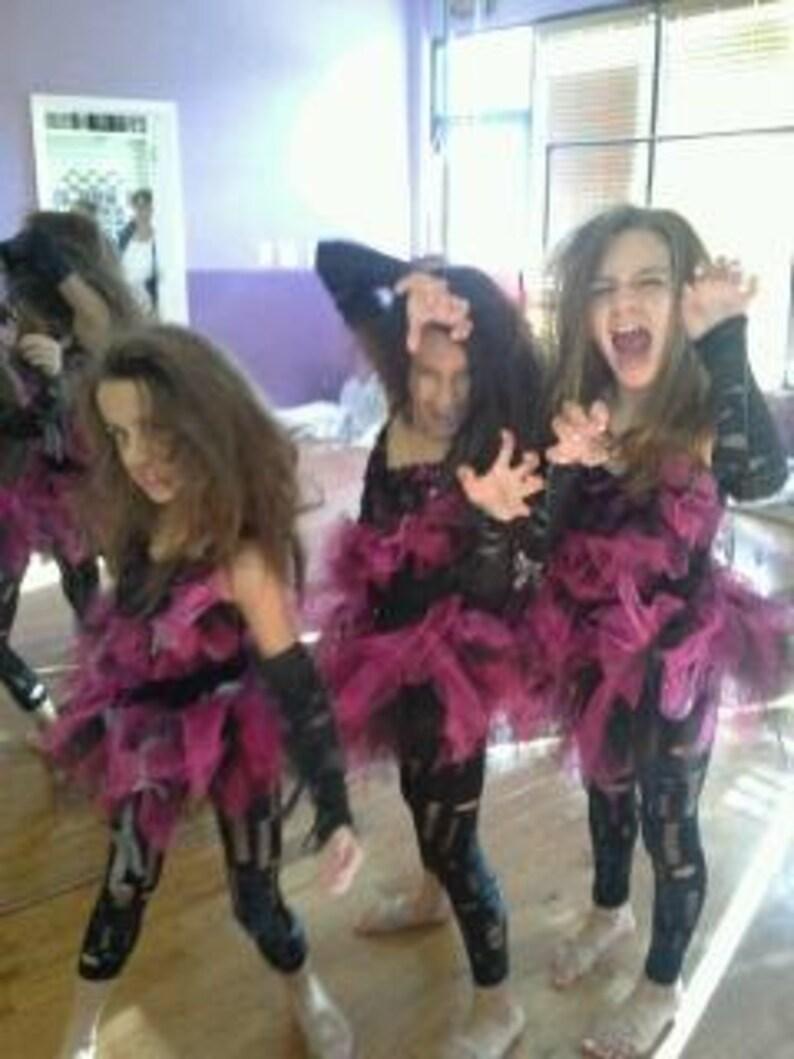 1bb0bd6d7ef Coffin Zombie Sleeves teen preteen girls zombie arm warmers