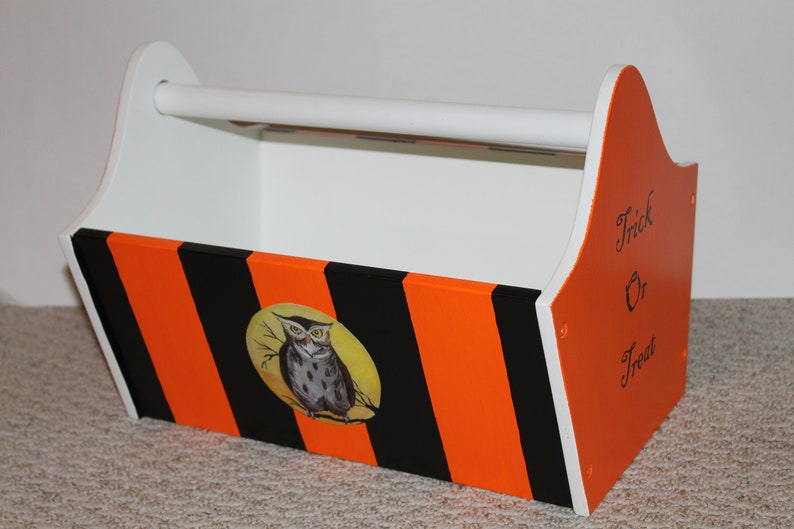 LAST ONE  Halloween Candy Caddy image 0