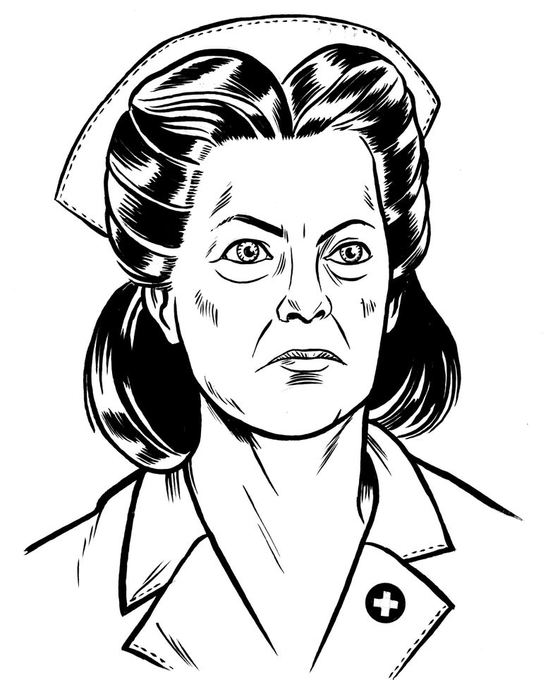 Nurse Ratched  One Flew Over the Cuckoo's Nest  ORIGINAL image 0